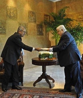 ad9cfc038 by Rouba Kabbara, BEIRUT (AFP) - Visiting Syrian Foreign Minister Walid  Muallem said on Monday that Damascus was keen to open a new chapter in its  relations ...